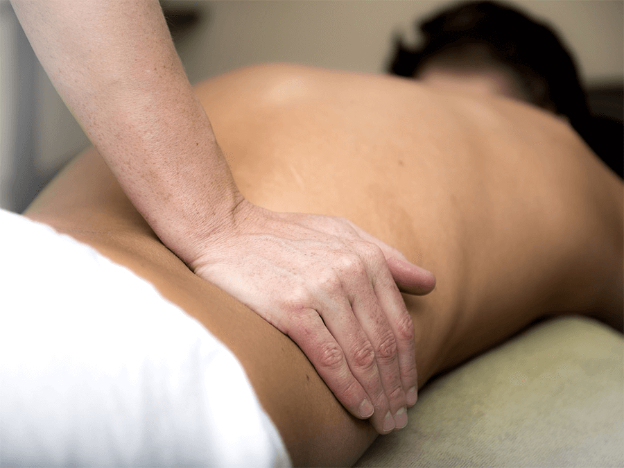 массаж дома